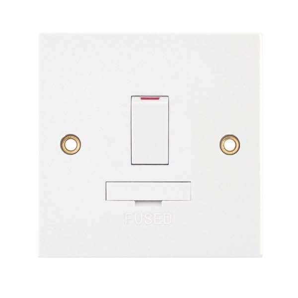13 Amp Fused Connection Unit Double Pole – Switched