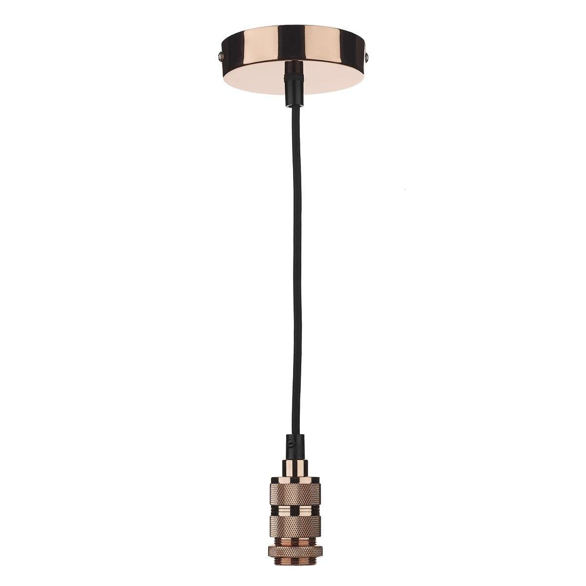 1 Light E27 Decorative Copper Suspension - use w/ Easy Fit Pendants