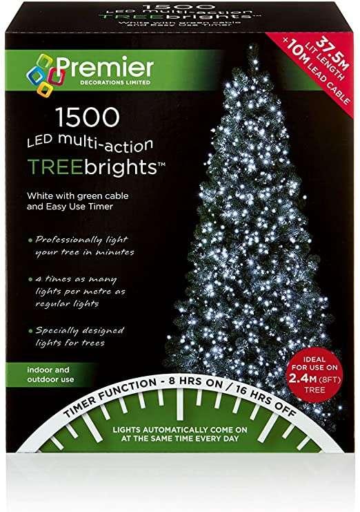 2000 Led Timer Treebrights White Lights