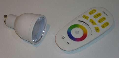 4W Colour Changing Bulb GU10