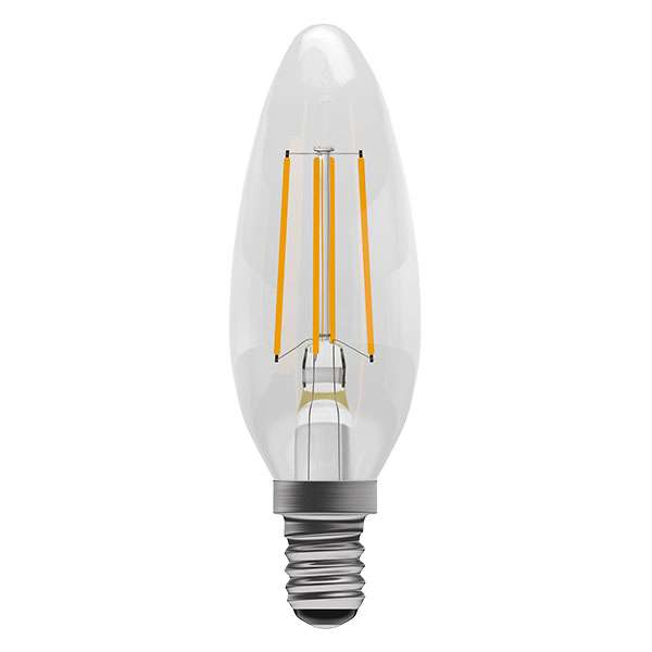 4W LED Filament Candle SES Clear 2700K