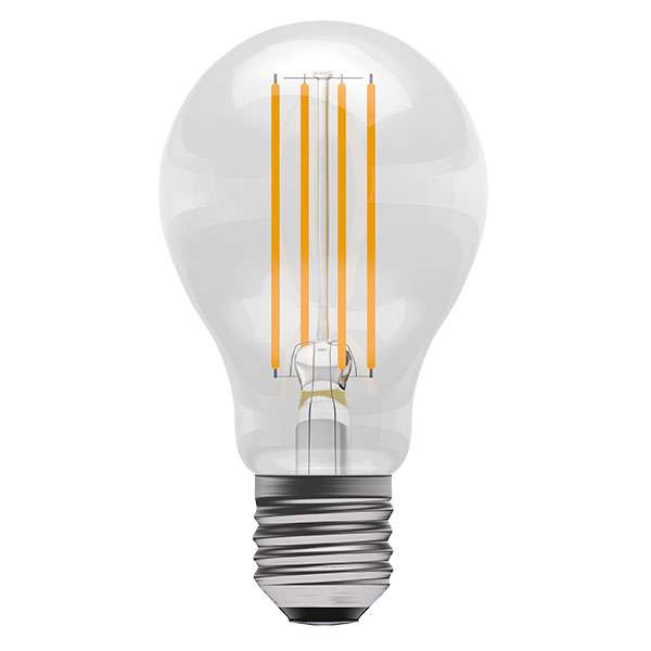 6W LED Dimmable Filament GLS ES Clear 2700K