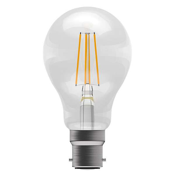 6W LED Filament GLS BC Clear 2700K