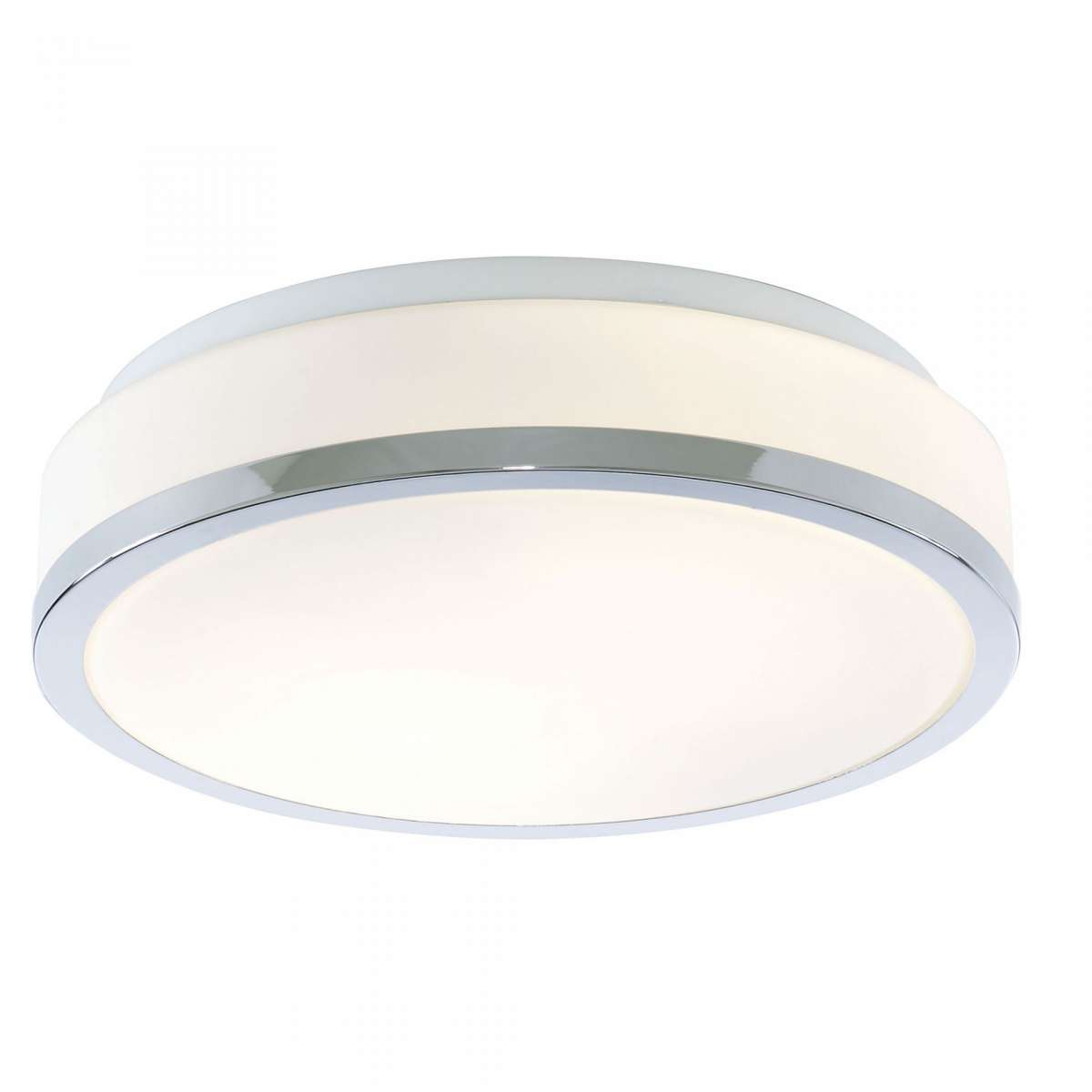 7039-28CC Ip44 2 Light Flush Opal