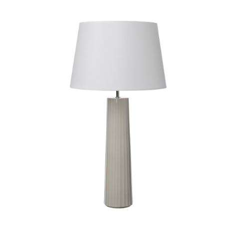 Abilo Table Lamp Brown/Grey Ceramic Base Only