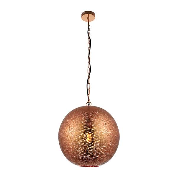 Abu Pendant in Copper Finish