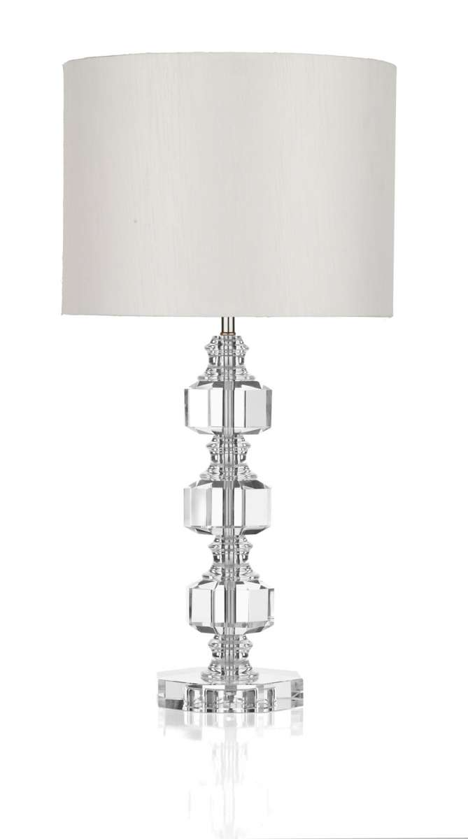 Acton Crystal Table Lamp