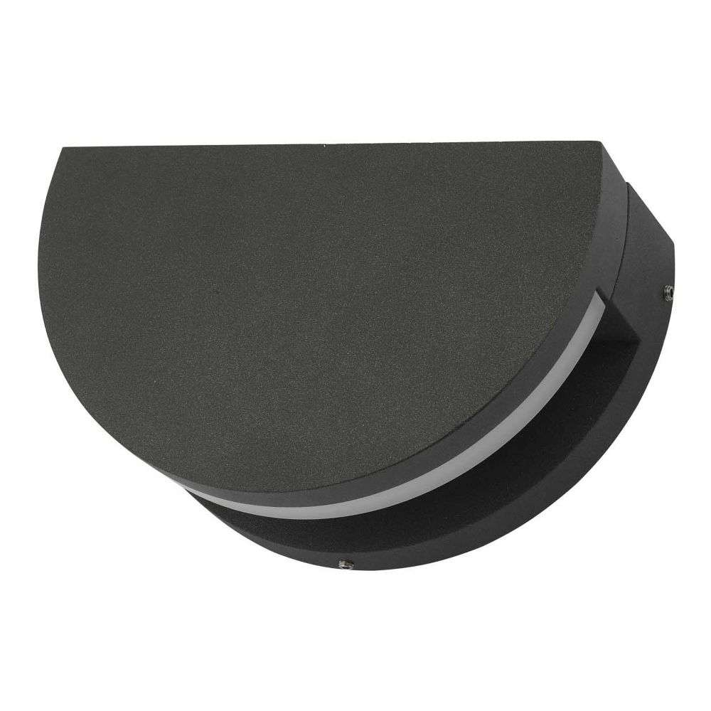 Adyson Wall Light Adjustable Circle Anthracite IP65 LED