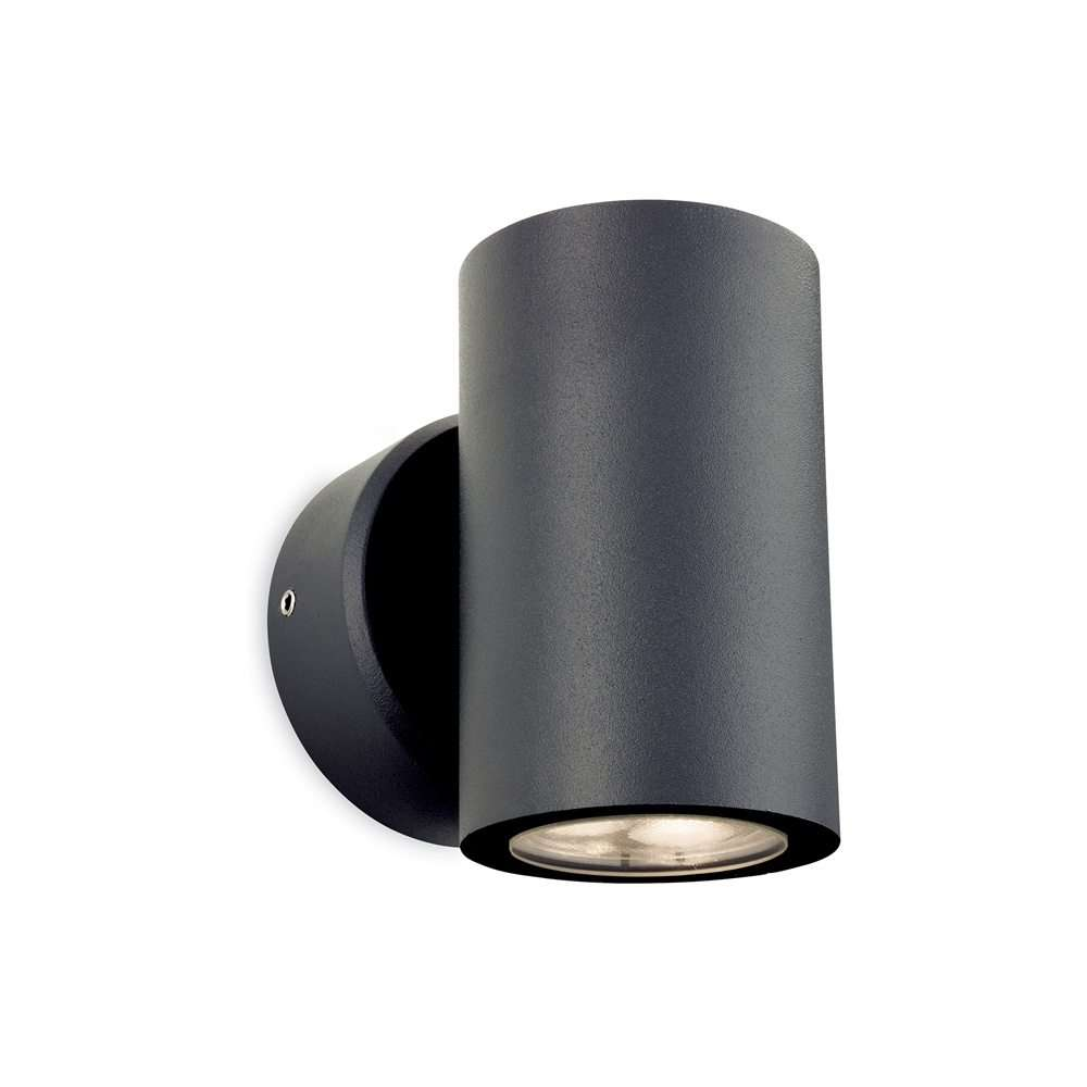 Alaska LED Outdoor Up & Down Light in Graphite Finish