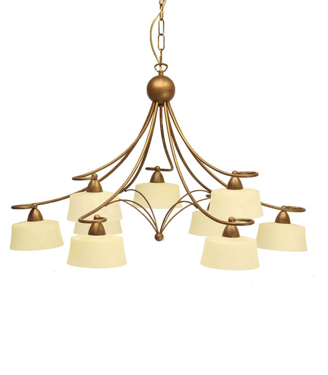 Alessa 9 Light Ceiling Light