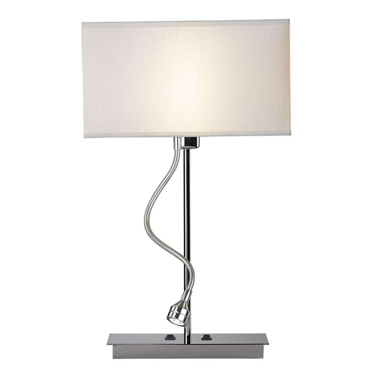 Amalfi 2-Light Polished Chrome Table Lamp Only