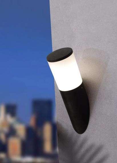 Amelia Black Opal LED 6W Angled Wall Light