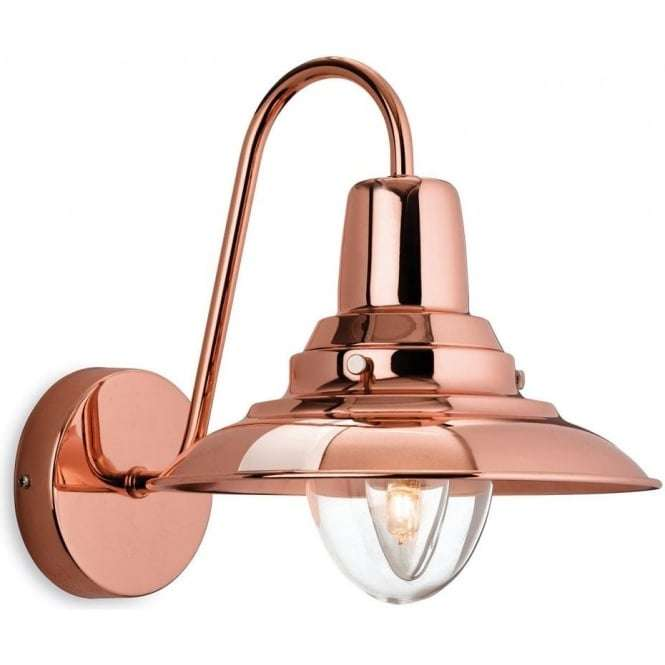 American Traditional Fisherman Copper Wall Sconce Light