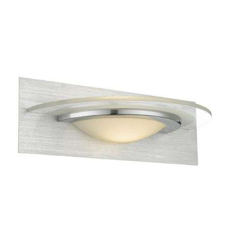 Analyze Wall Light Brushed Alu/ Chrome Led