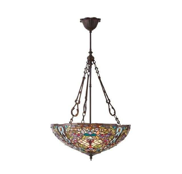 Anderson Large Inverted 3 Light Pendant 60W