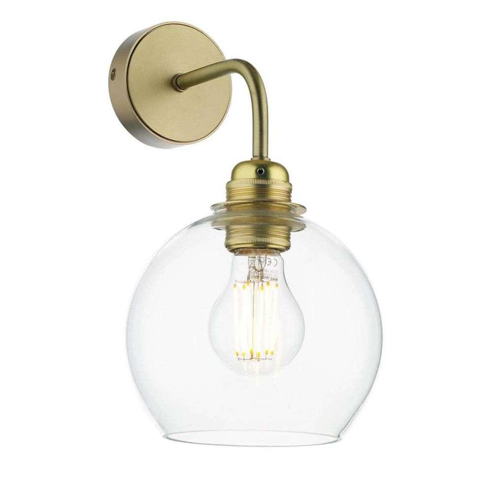 Apollo Butter Brass Wall Light