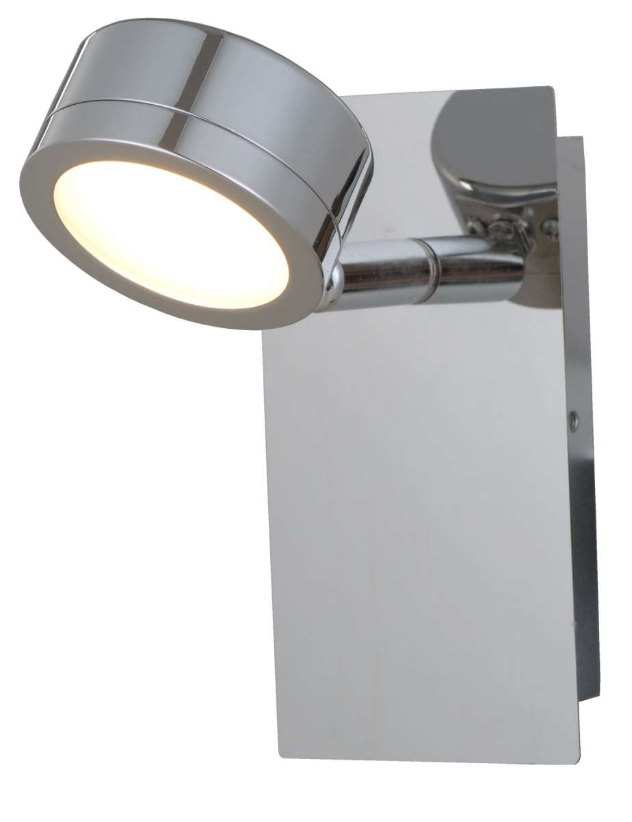 Aqua 1 Light Bathroom Wall Light Polished Chrome