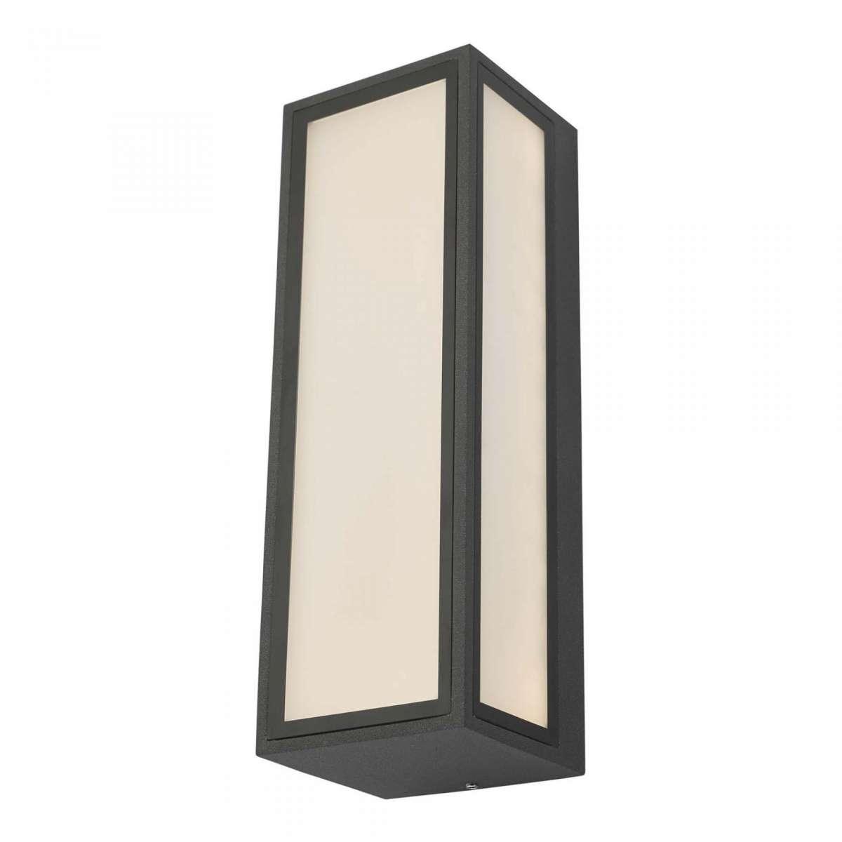 Arham 1 Light Wall Light Anthracite IP65 LED