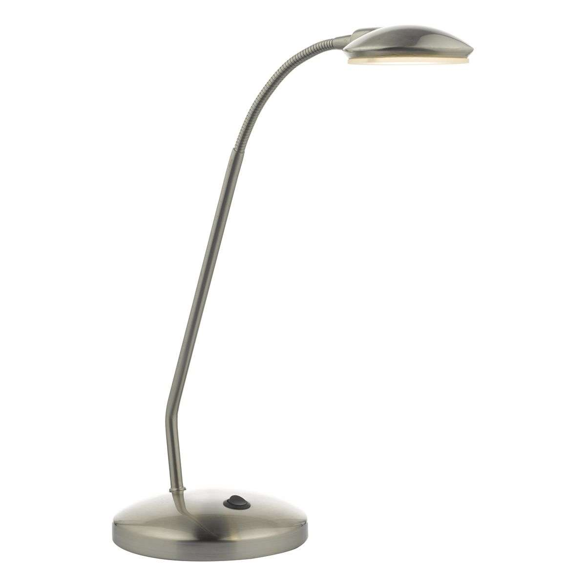 Aria Task Lamp Satin Chrome