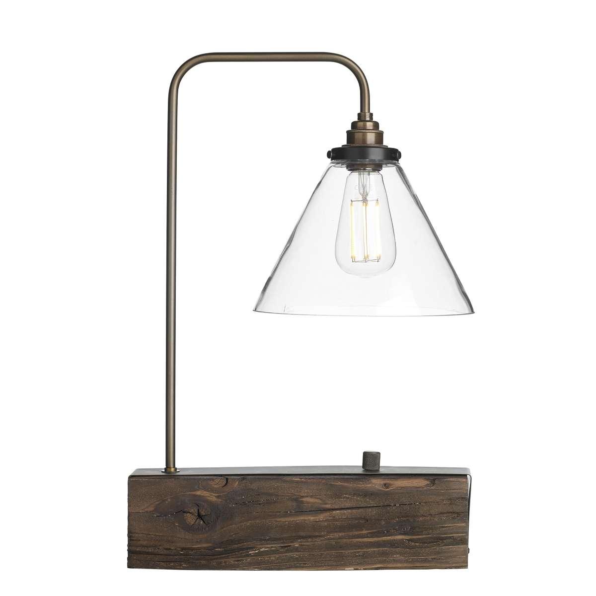 Aspen Wooden Table Lamp