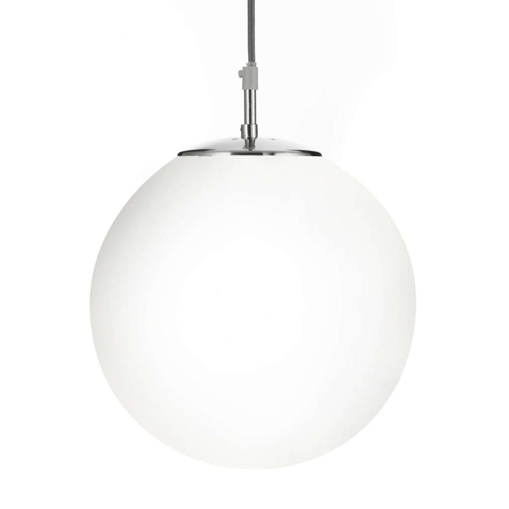 Atom 12  Shiny Opal Ball/Satin Silver Suspension