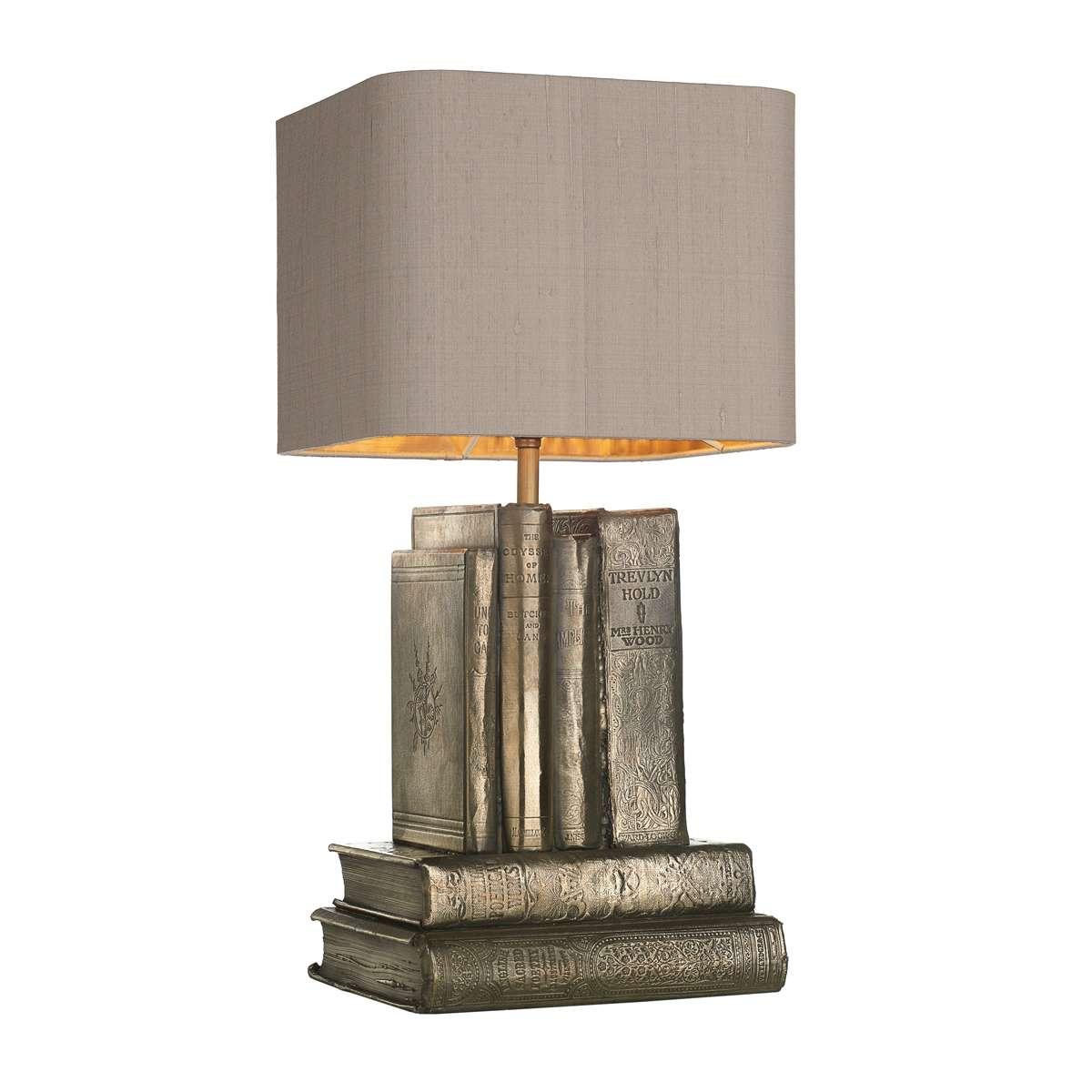 Author Bronze Table Lamp