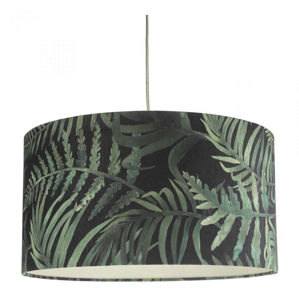 Bamboo Easy Fit Shade Green Leaf Print Small