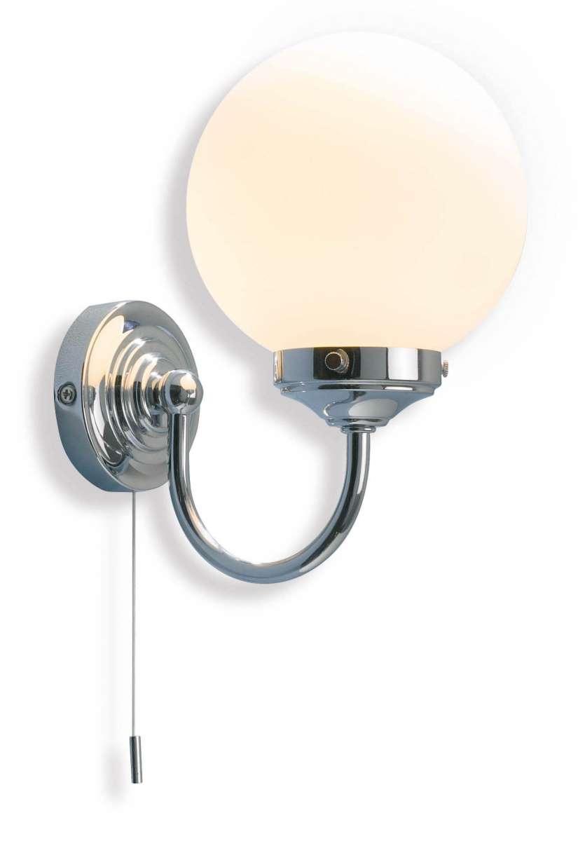 Barclay 1-Light Polished Chrome Wall Bracket