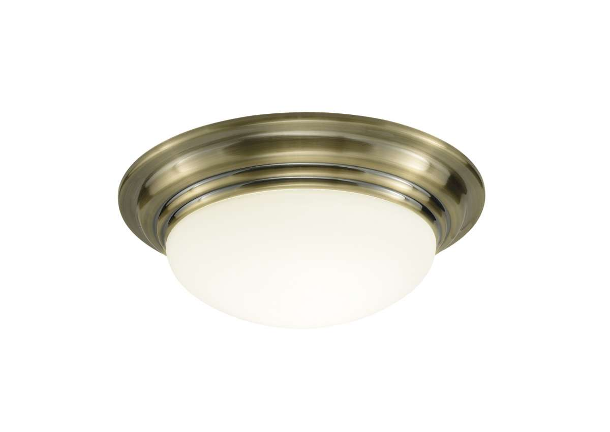Barclay Small Antique Brass Flush Fitting