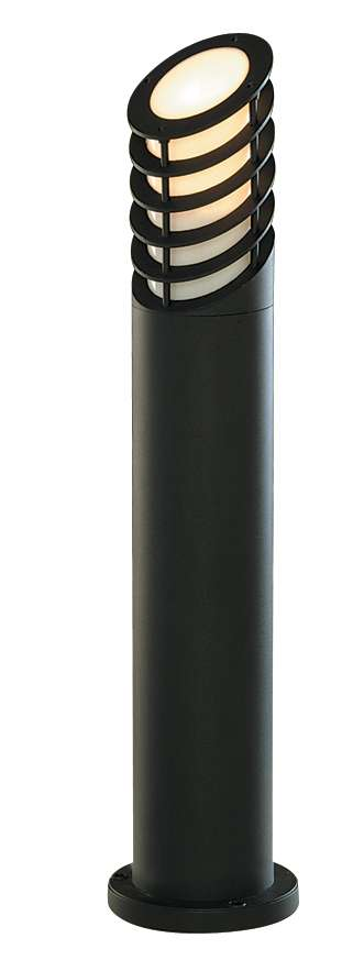 Black Aluminium Outdoor Bollard Light