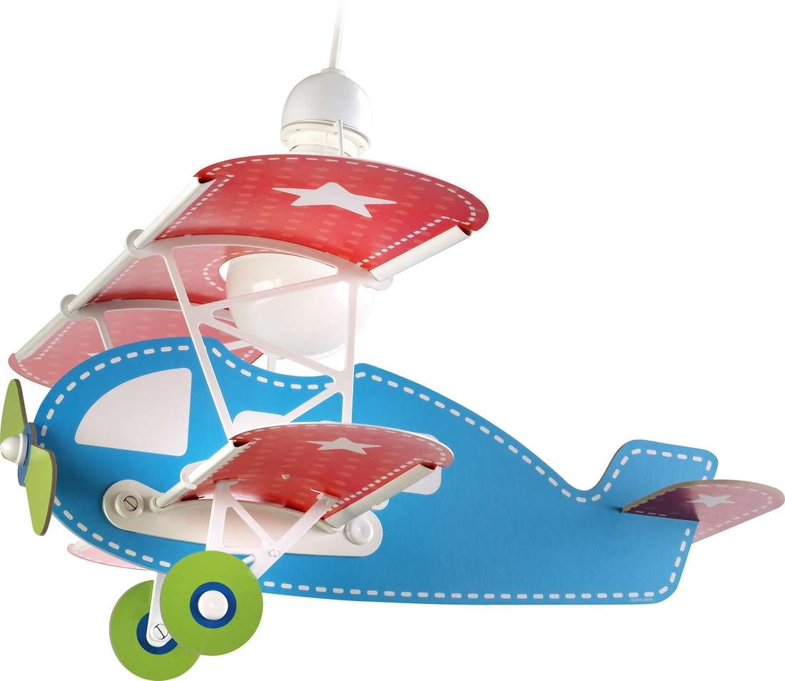 Blue Baby Plane Pendant Light