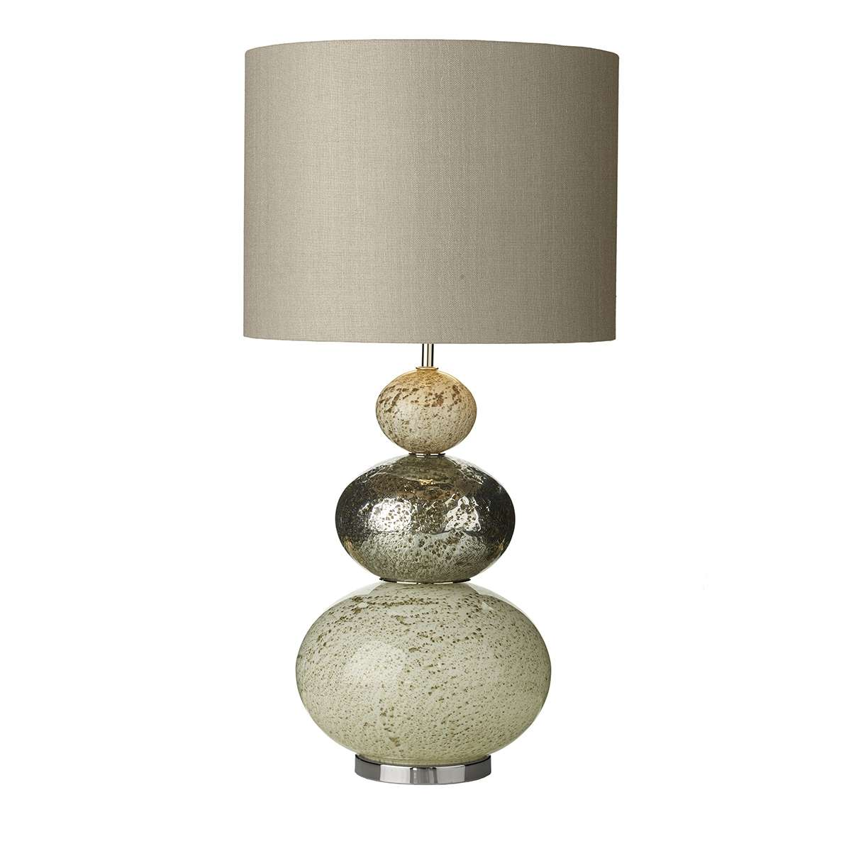 Boavista Volcanic Effect Glass Table Lamp