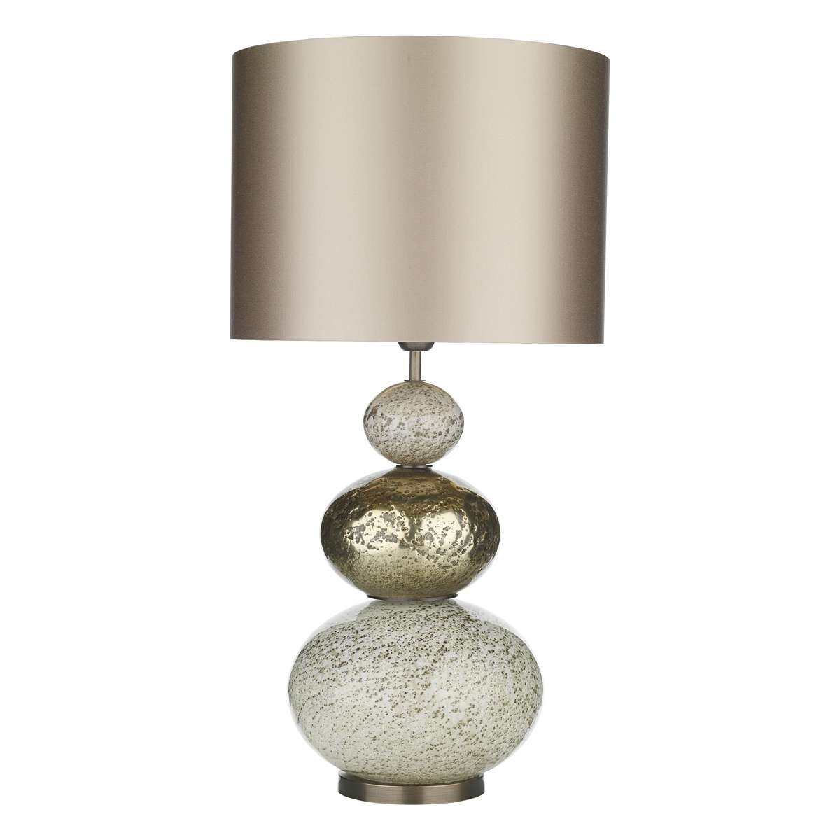 Boavista Volcanic Effect Gold Glass Table Lamp