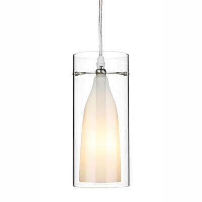 Boda 1-Light Satin Chrome Pendant