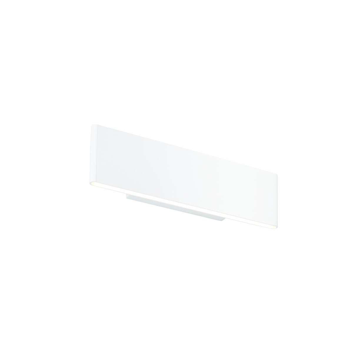 Bodhi Matt White Wall Light 285mm 5.5W Warm White