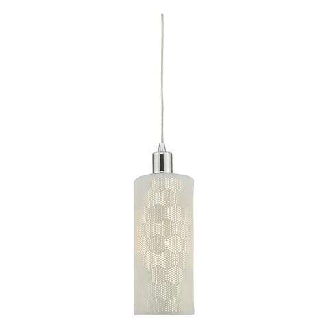 Bryn Easy Fit Pendant White Ceramic