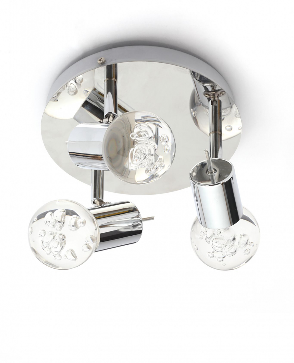 Bubble 3 LED Bathroom IP44 Spotlight