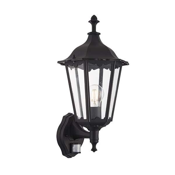 Burford Wall Light Photocell & PIR IP44 60W