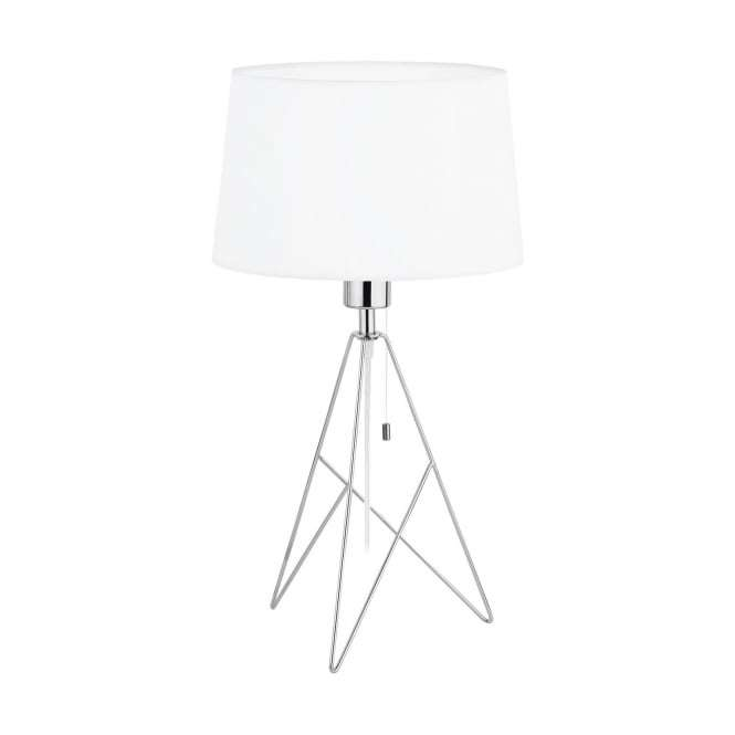 Camporale 1 Light Table Lamp Chrome