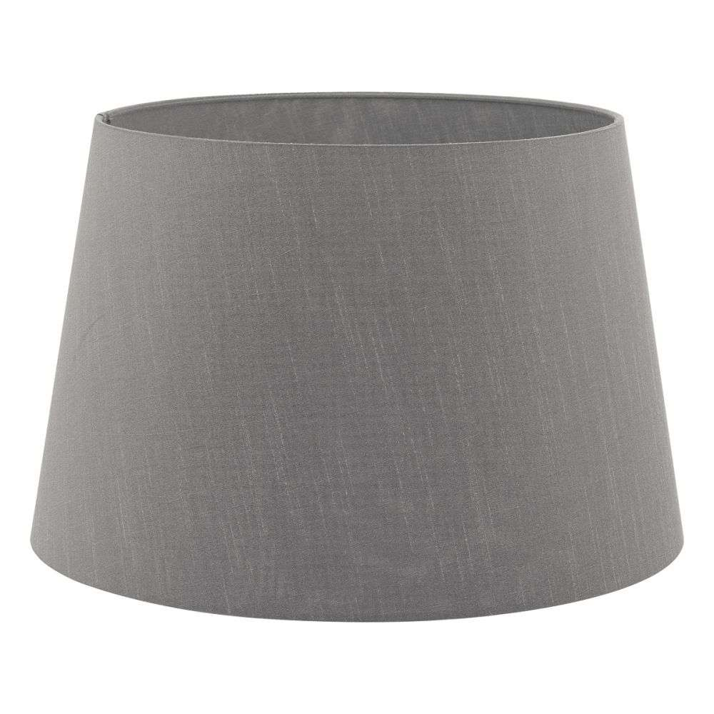Cezanne French Drum 45cm Slate Faux Silk Tapered Drum