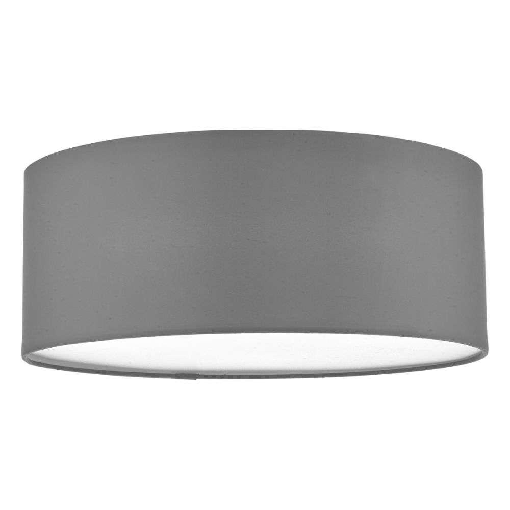 Cierro 3 Light Flush Fitting in Grey