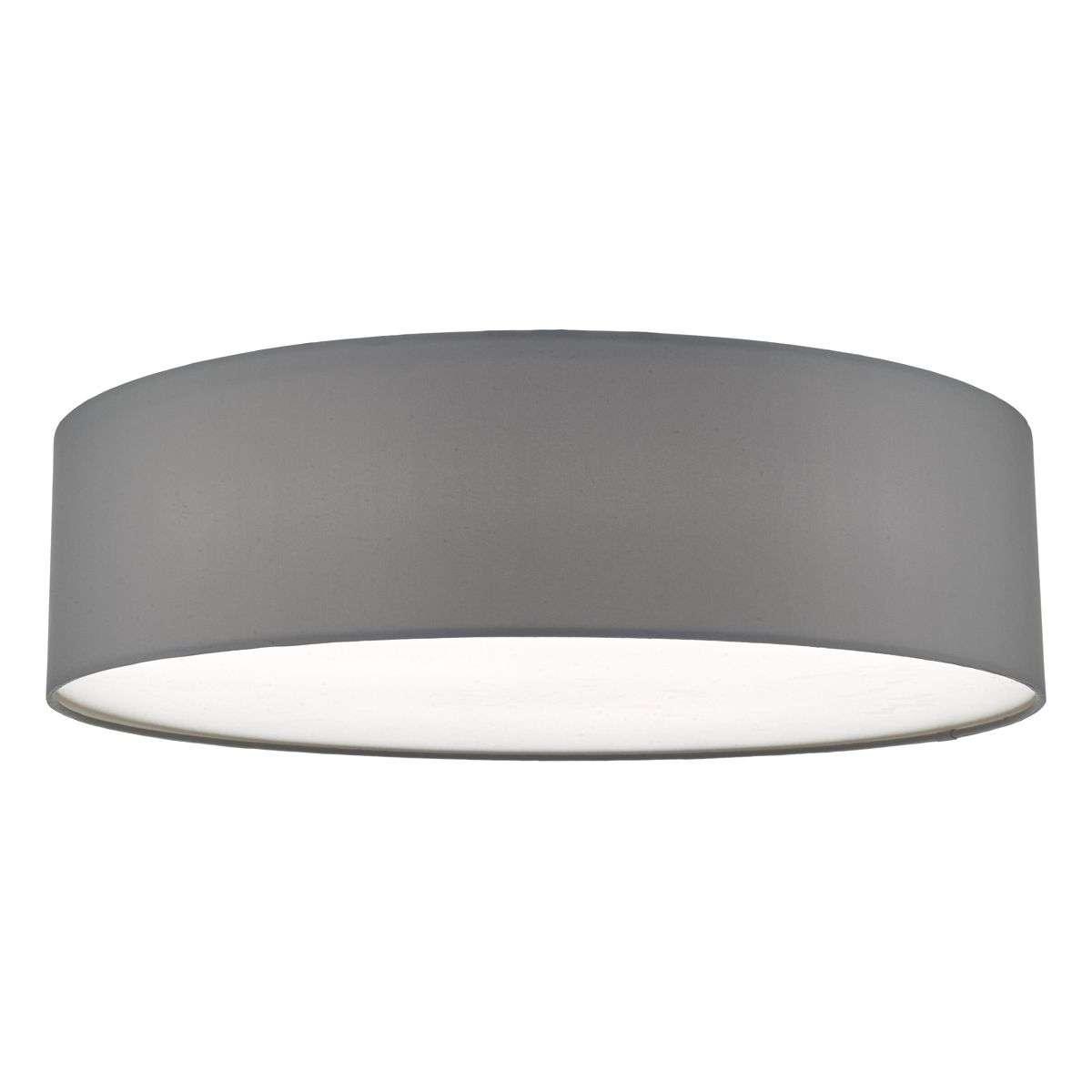 Cierro 4 Light Flush Fitting in Grey