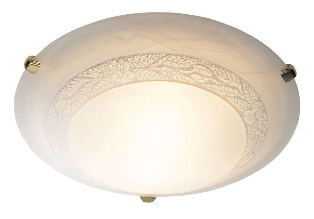 Damask 1-Light 30cm Flush Fitting