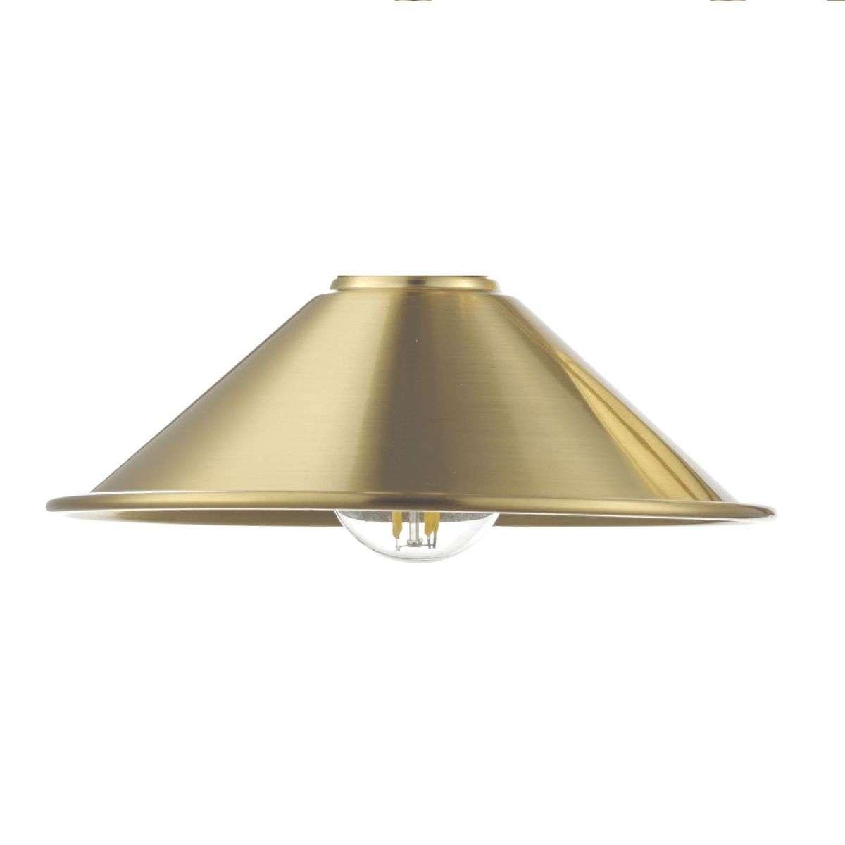 Dar Lighting ACC861 Metal Aged Brass Shade
