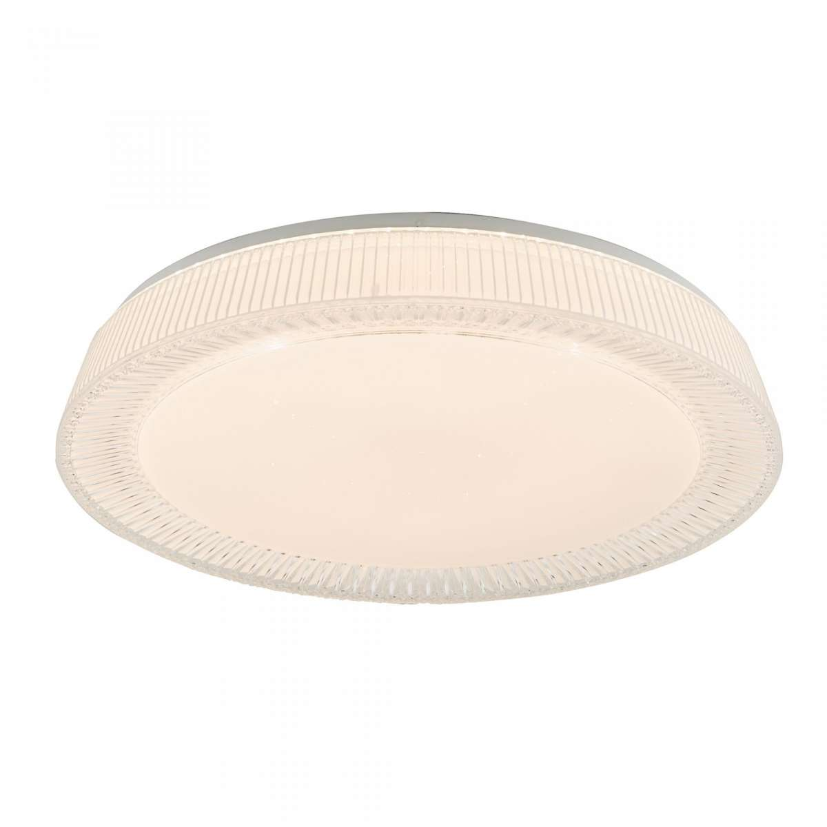 Dar Lighting UDE482 Udell Flush Acrylic 36W LED Ceiling Light