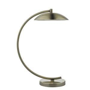 Dash Task Lamp Antique Brass