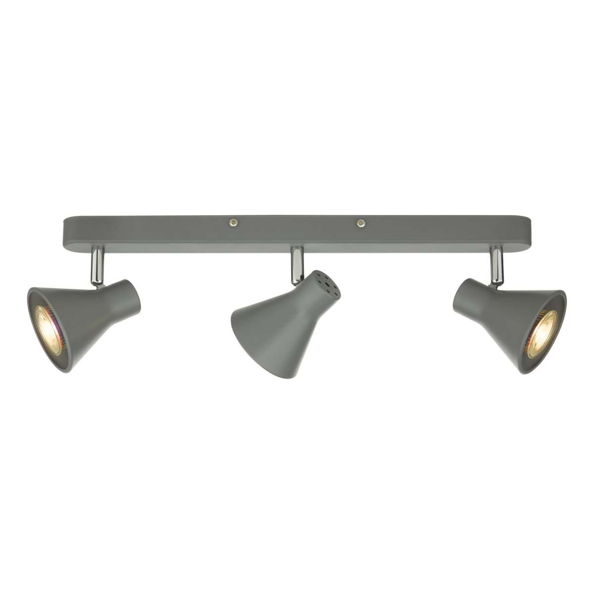 Diza 3 Light Spotlight Bar in Matt Grey