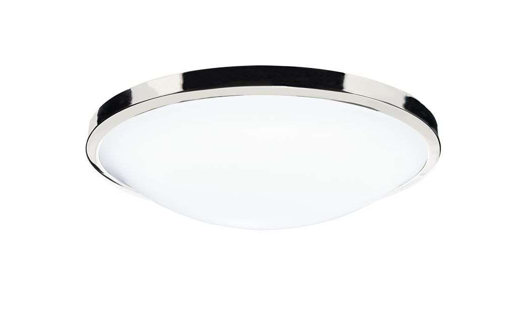 Dover 1-Light Acrylic Bathroom Flush Fitting