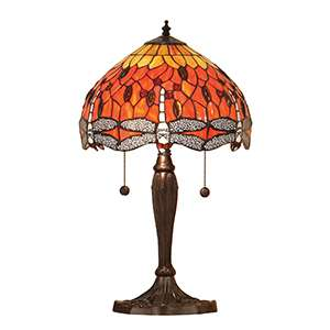 Dragonfly flame small table 60W SW