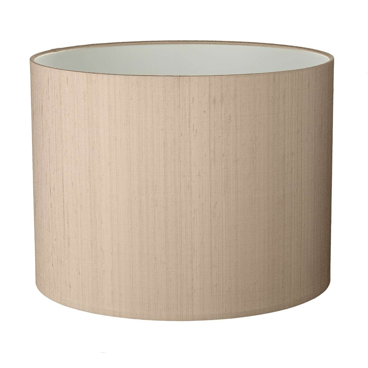 Drum Medium 50CM 100% Silk Shade with Shade Colour Options